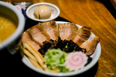 Iberico Pork Cheeks (Daniel Y. Go) Tags: fuji fujixpro2 xpro2 philippines food japanesefood iberico porkcheeks santouka