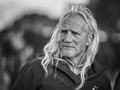 Hairdressers be damned (Frank Fullard) Tags: frankfullard fullard blonde hair longhair candid street portrait hippy ballinasloe horse fair irish ireland galway