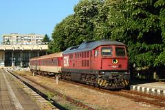 Silistra (Krali Mirko) Tags: bdz train locomotive diesel 07 lugansk ludmilla voroshilovgrad 07032 silistra bulgaria railway railroad transport        station