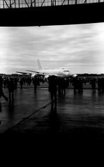 ENTRANTS (Dinasty_Oomae) Tags: nagel vollenda    blackandwhite bw monochrome outdoor jmsdf    shimofusaairbase hangar  kawasakip1 p1 p1