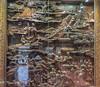 Big Wild Goose Pagoda-5699 (kasiahalka (Kasia Halka)) Tags: unescoworldheritagesite giantwildgoosepagoda bigwildgoosepagoda buddhistpagoda tangdynasty 652 morningbell godofwealth xuanzang xian china