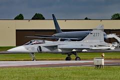 277 (GH@BHD) Tags: 39268 268 saab jas39 jas39c grippen swedishairforce riat riat2016 royalinternationalairtattoo raffairford fairford military fighter bomber strikeaircraft aircraft aviation