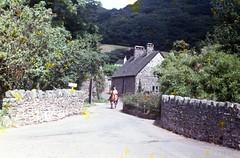 img764 (foundin_a_attic) Tags: england packhorse allerford ta24 8hw thepackhorse exmoor minehead 1964 thatch chimney historic ye old house stone men hourse