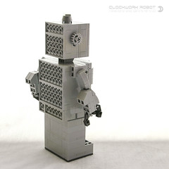 Immortal Clockwork Robot (dvdliu) Tags: immortal clockwork robot mechanism lego moc