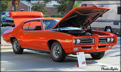 '69 Pontiac GTO Judge (Photos By Vic) Tags: 1969 69 pontiac gto judge musclecar automobile antique vehicle vintage old classic car carshow aacasoutheasternmeet