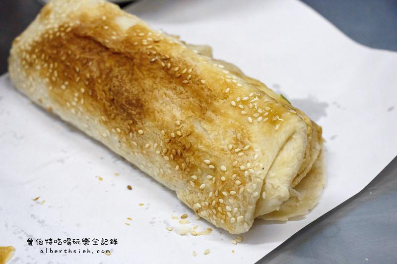 桃園早餐。李燒餅-南門市場