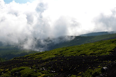 Mount Fuji Mist Cloud (pokoroto) Tags: mount fuji mist cloud  fujisan yamanashi prefecture   japan 8   hachigatsu hazuki leafmonth 2016 28 summer august