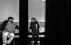 """Truly wonderful, the mind of a child is"" - Jedi Master Yoda (Manoel Queiroz Ferreira) Tags: blackwhite pb people children newyork city metro subway street"