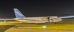 Antonov UR-82072 (sylvain44) Tags: aircraft airplane airplanes avion airliner airlines antonov design bureau an124100 ur82072 nantes night