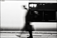 Ghost session 2. (mildiou2) Tags: ghost man train station