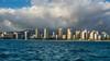 Waikiki (Ollie - Running on Empty) Tags: nikond7100 afsdxvrnikkor18200mmf3556gifed oliverleverittphotography hawaii oahu waikiki waikikibeach skyline buildings shore clouds sea ocean