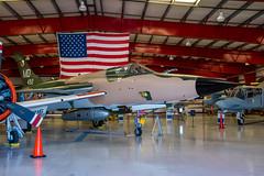 DSC_1301 (Calum Linnen) Tags: aviation valiant air command museum united states force usaf us navy f105d a4skyhawk f8 crusader f14 tomcat