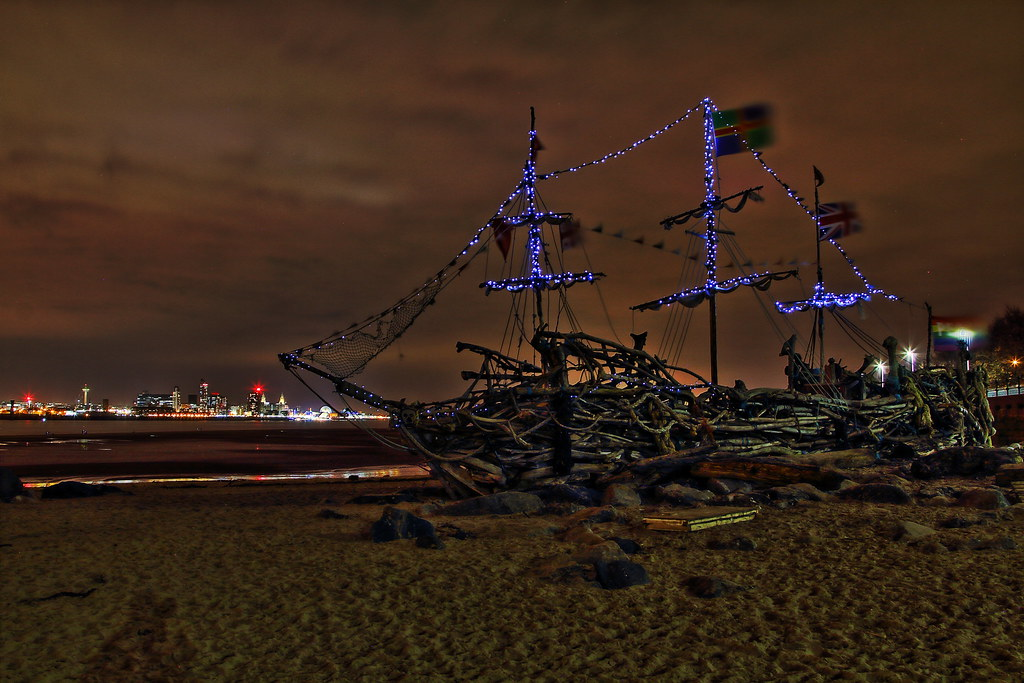 The Black Pearl At Night