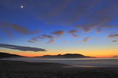 Cobas (Ferrol - A Corua - Galicia - Espaa) (Mara Grandal) Tags: playa cobas covas ferrol corua galicia espaa spain europa europe luna