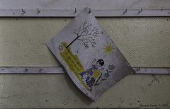 School's Out (Marian Smeets) Tags: schoolsout school urbex urbexexploring belgium belgie abandoned decay vervallen verlaten nikond750 mariansmeets 2016 tekening drawing