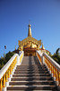 The Golden Temple (fralvikhan) Tags: goldentemple golden temple blue sky bandarban bangladesh