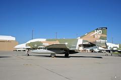 F-4E Phantom II 68-0581  20th Fighter Squadron Silver Lobos (PhantomPhan1974 Photography) Tags: arizona tucson az boneyard 20th f4e amarc davismonthanafb 20thfightersquadron amarg phancon phancon2005 silverlobos 309thaerospacemaintenanceandregenerationgroup