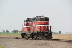 CBRW EMD GP-9 #302 (busdude) Tags: railroad columbia basin 302 emd gp9 cbrw