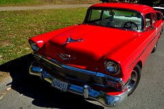 Old Car Picnic 01 (Tom Hilton) Tags: color chevy sfist jimmysoldcarpicnic