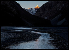 Dusk in the Shaksgam River Valley (doug k of sky) Tags: china river doug chinese east valley xinjiang karakoram province turkestan mountainscapes shaksgam kofsky