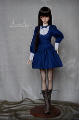 School Day (AyuAna) Tags: ball design clothing doll dress skin body handmade ooak clothes bjd lydia dollfie hybrid nuevo homme jointed granado elfdoll normalskin ayuana