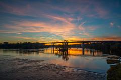Richmond Sunset (HBH AlFalasi) Tags: sunset river james richmond va vcu virgina rva