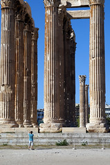 Perspective (g23armstrong) Tags: holiday temple perspective athens greece zeus pillars