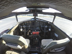 Cockpit B-17 Flying Fortress (MorrowDad) Tags: black flying aluminum wwii overcast b17 edition fortress eaa gopro hero4