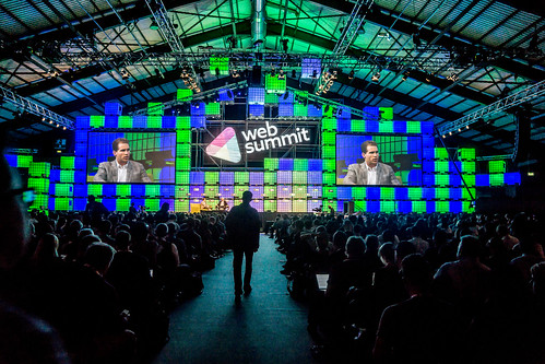 THE MAIN STAGE - WEB SUMMIT DUBLIN 2014 [DAY THREE] Ref-5084