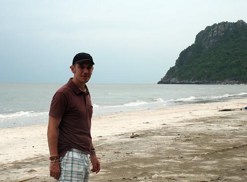 Me on beach, Hua Hin