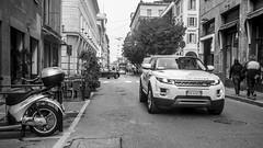 via monteverdi (august_brain) Tags: street city urban bw micro suv cinematic 169 43 retrosesos