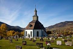 Sr-Fron kirke, Hundorp (estenvik) Tags: autumn oktober fall norway norge october hst kirke 2014 gudbrandsdalen oppland hundorp srfron estenvik erikstenvik