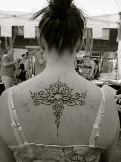 Lotus back piece