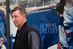 Wayne Gretzky - Edmonton Oilers Ambulatory Clinic