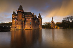 netherlands7years-52 (Bartek Rozanski) Tags: winter sunset snow castle netherlands hail frozen pond utrecht afternoon haarzuilens dehaar kasteel hitechndgrad09soft hitechfilters