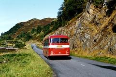 Highland L20 0930hrs Inverness to Portree October 1981 (return2layerroad) Tags: scotland alexander portree inverness dornie leylandleopard shielbridge highlandomnibuses cas514w