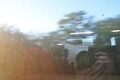 Going home by train (Thorsten Reiprich) Tags: reflection travelling river germany deutschland cycling evening abend reisen europa europe day traffic tag transport fluss rhine rhein verkehr radtour rheinlandpfalz selfie mirroring 2014   rhinelandpalatinate