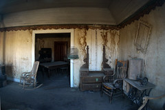Bodie Ghost town, California (sensaos) Tags: california park travel usa abandoned america town state decay room united nevada ghost sierra historic mining fisheye forgotten ghosttown bodie states abandonment bodiestatehistoricpark 2013 sensaos