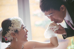 :  &  ( | YELLOW Mao) Tags: wedding portrait taiwan documentary wed taichung    inlove     weddingdocumentary