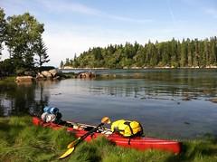 Kayak camping (moonwatcher13) Tags: camping kayak maine kayaking vinalhaven iphone iphone4 littlehenisland