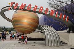 The world of tomorrow is sooooo heavy (Stinkee Beek) Tags: hongkong erin disneyland ethan newterritories