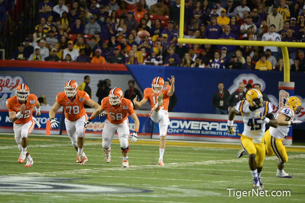 Clemson Photos: 2012, Bowl  Game, Football, lsu, Spencer  Benton