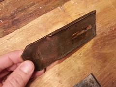 20141019_125716 (Finnberg68) Tags: plane bed iron cutter patent patented billnäs bruk chipbreaker 13022 billnas