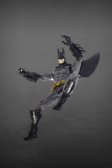 Enter the Batman! (skipthefrogman) Tags: fun toy action figure batman kit bandai spru sprukits