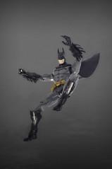 Enter the Batman! (skipthefrogman) Tags: fun toy action figure batman kit bandai spru sprukits
