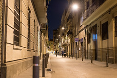266/365 (kriegundliebe) Tags: barcelona street city travel architecture night spain urbanlights