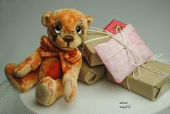 mein Ted (Zhanna Zolotina) Tags: bear teddy handmade ooak 41
