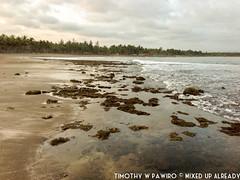 Indonesia - Pangandaran - Batukaras - Pantai Karang (02) (timothywpawiro) Tags: travel beach rock indonesia photography java asia reef batukaras pangandaran batu pantai karang iphone