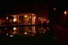 DSC_9314 (georgerocheleau) Tags: arizona reflection water night chandler