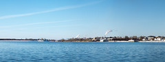 Kostroma panorama, part 1/4 (andrey.senov) Tags: city blue autumn sky panorama fall water river fuji russia bank fujifilm province volga x10       kostroma    10faves    fujifilmx10